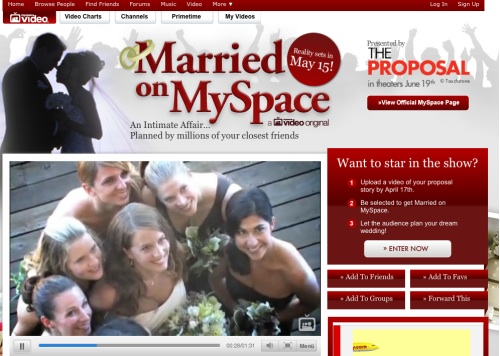 Married on MySpace