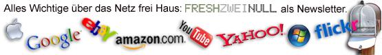 freshzweinull als Newsletter